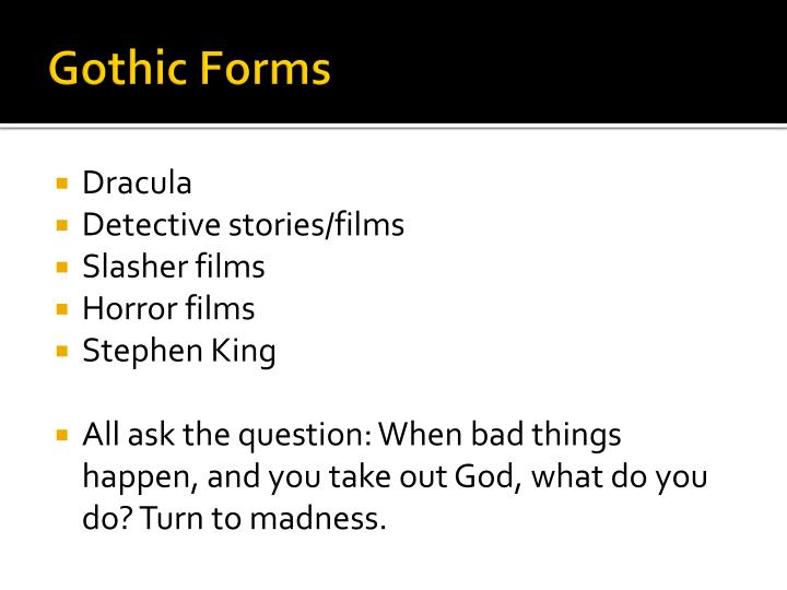 Gothic Forms