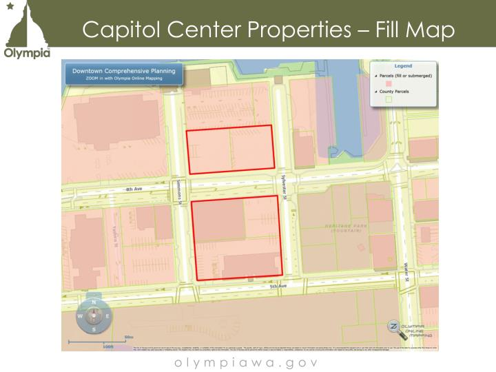 Capitol Center Properties – Fill Map