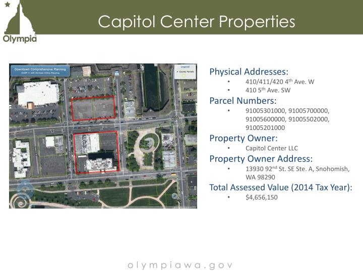 Capitol Center Properties
