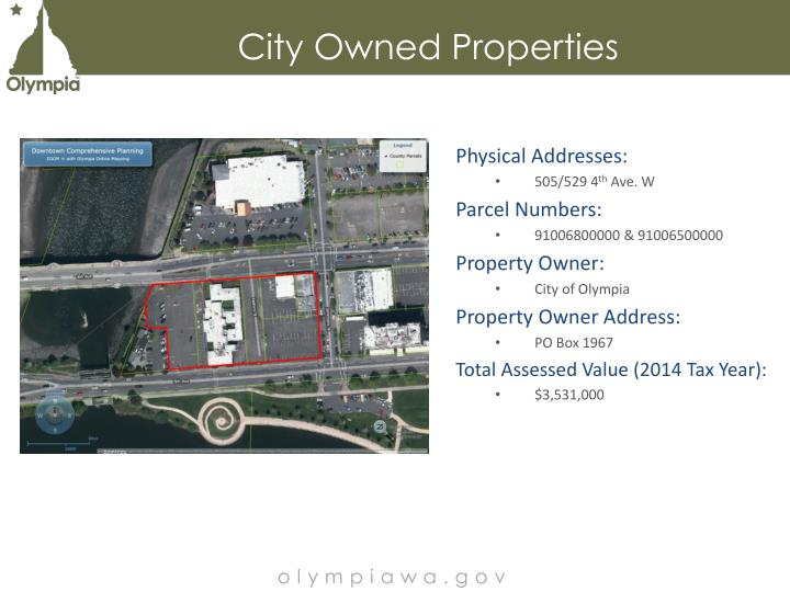 City Owned Properties