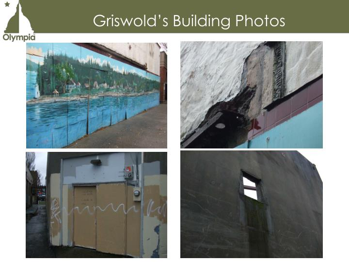 Griswold's Building Photos