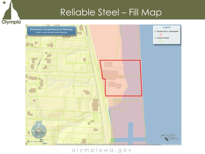 Reliable Steel – Fill Map