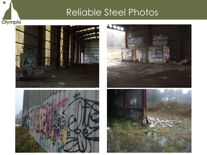 Reliable Steel Photos
