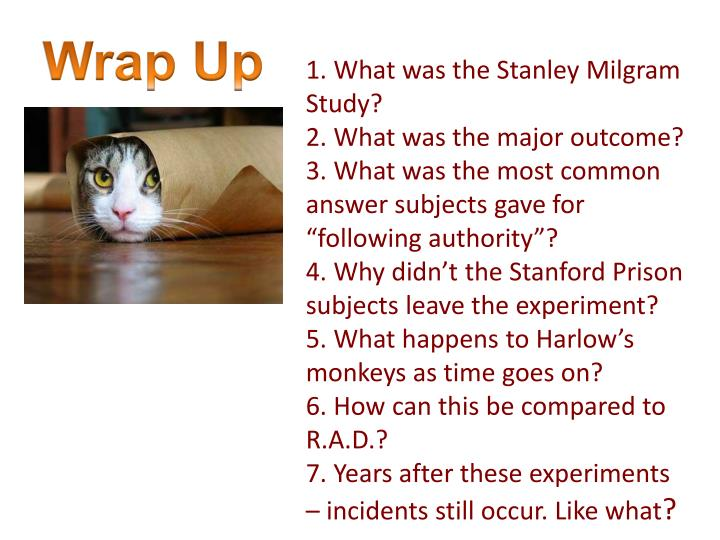 1. What was the Stanley