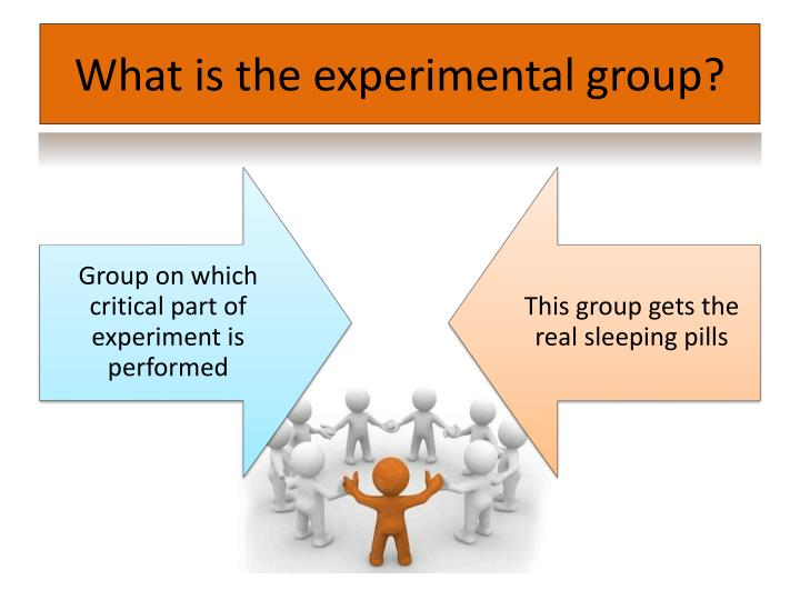 What is the experimental group?