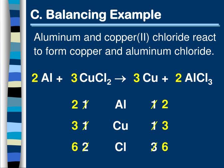 C. Balancing Example