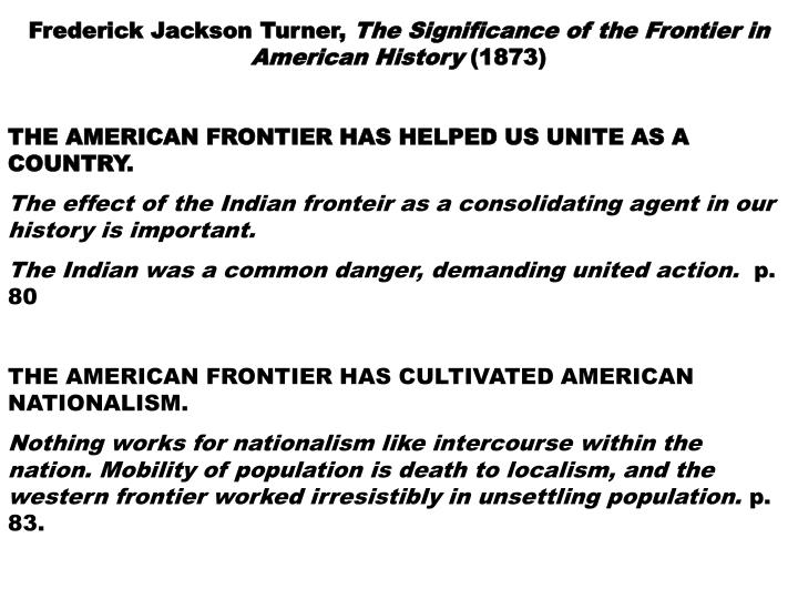 Frederick Jackson Turner,