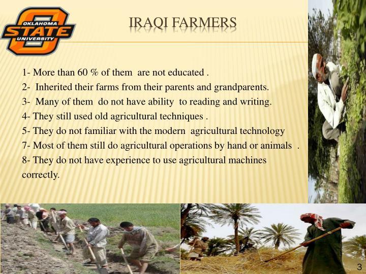 Iraqi farmers