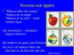 newton och pplet