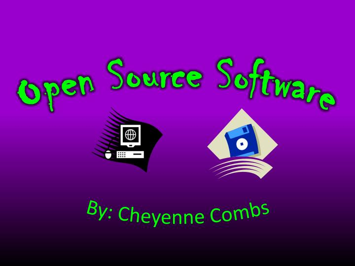 open source software n.