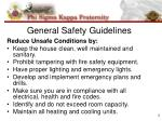 general safety guidelines1