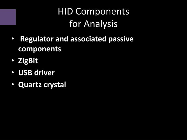HID Components