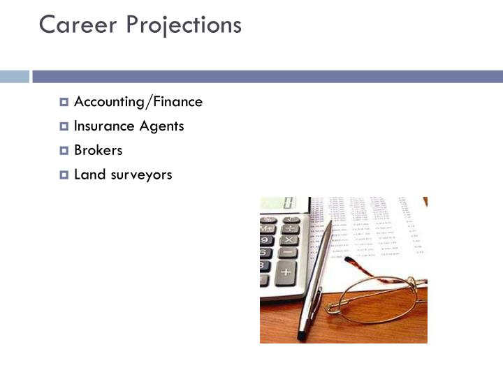Career projections