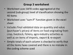 group 3 worksheet