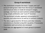 group 4 worksheet