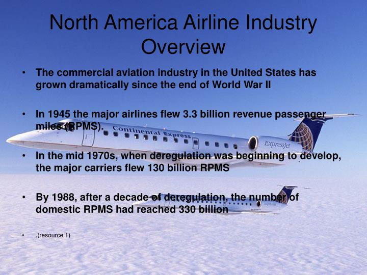 North America Airline Industry