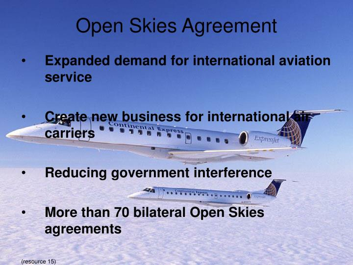 Open Skies Agreement