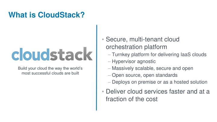 What is cloudstack