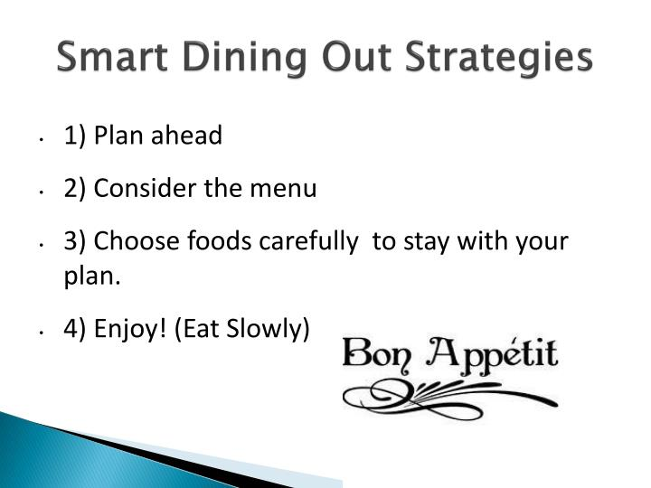 Smart Dining Out Strategies
