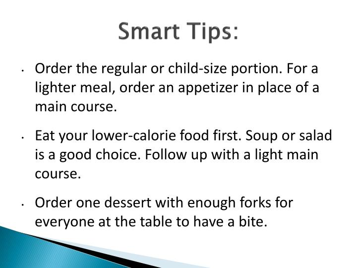 Smart Tips: