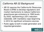 california ab 32 background