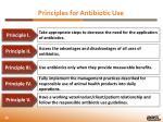 principles for antibiotic u se
