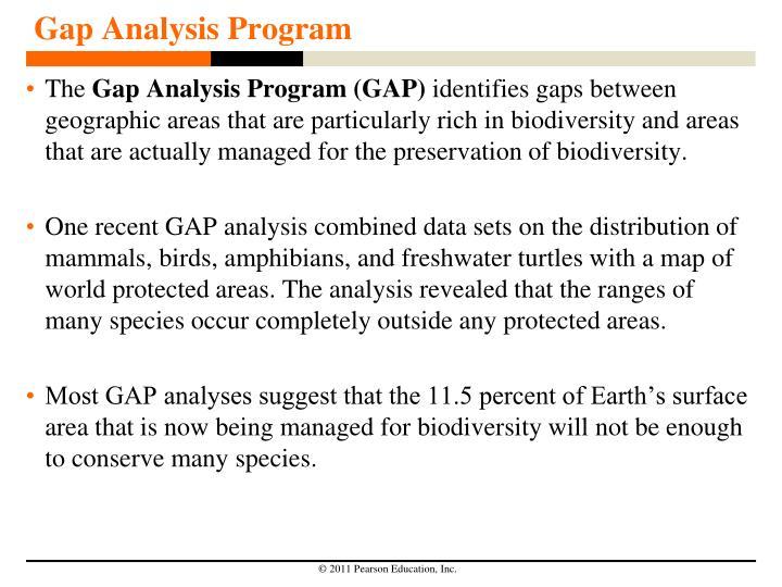 Gap Analysis Program