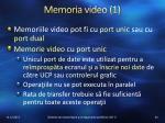 memoria video 1