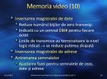 memoria video 10
