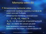memoria video 5