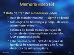 memoria video 6