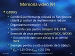 memoria video 9