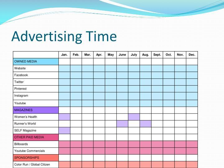 Advertising Time