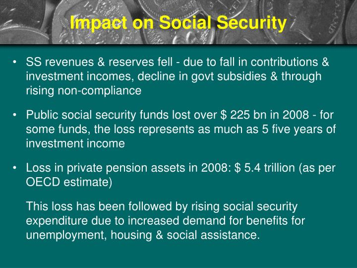 Impact on Social Security