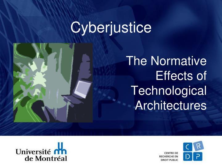 Cyberjustice
