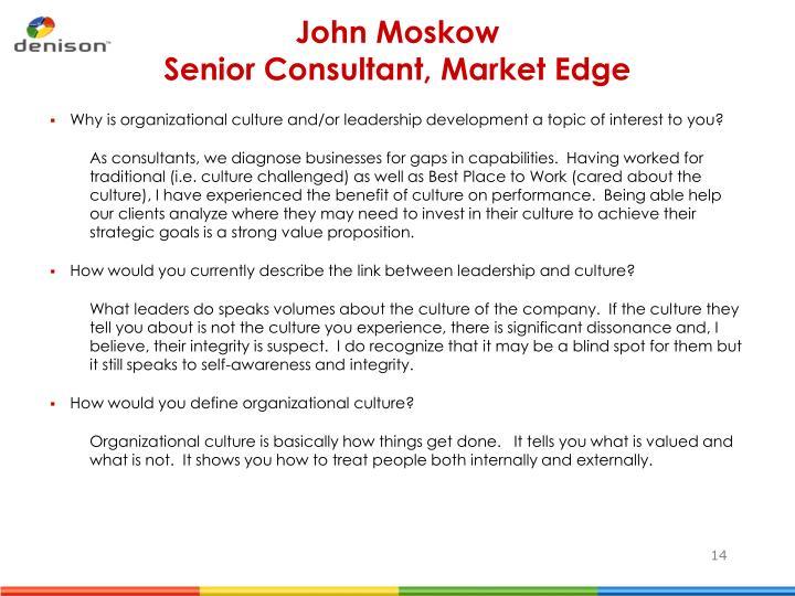 John Moskow