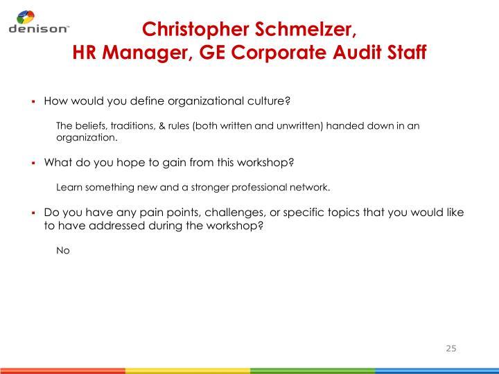 Christopher Schmelzer,