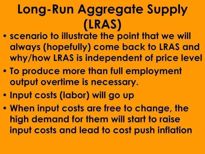 Long-Run Aggregate Supply (LRAS)