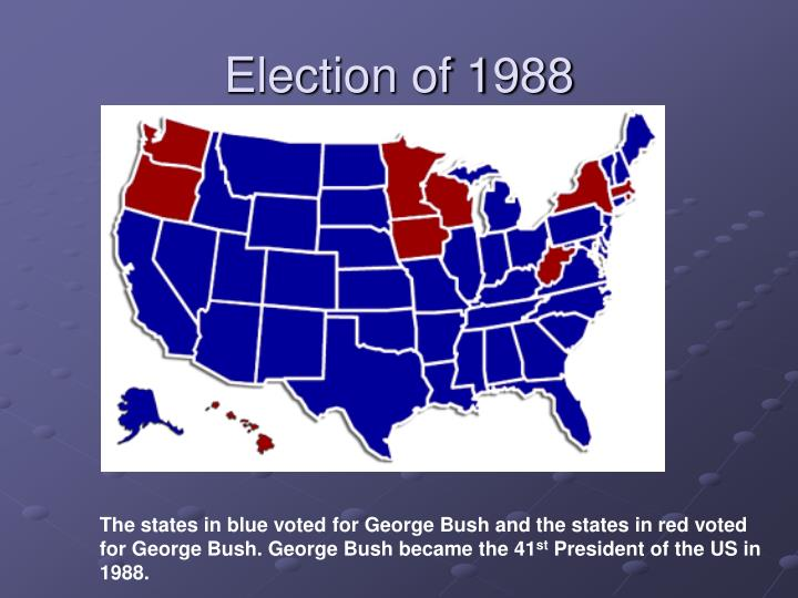 Election of 1988