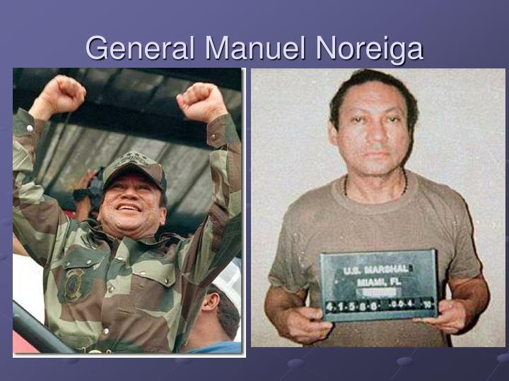 General Manuel Noreiga
