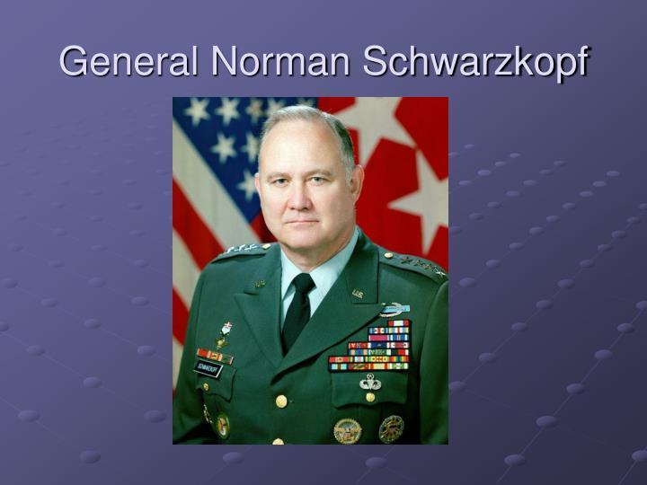 General Norman Schwarzkopf