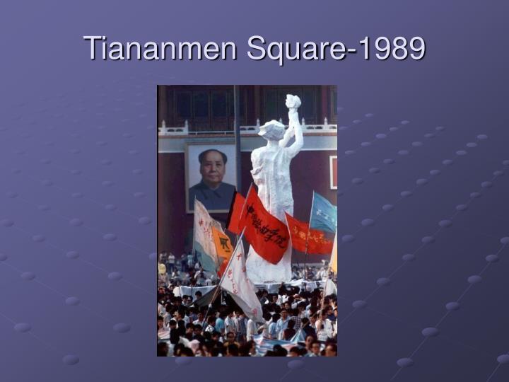 Tiananmen Square-1989