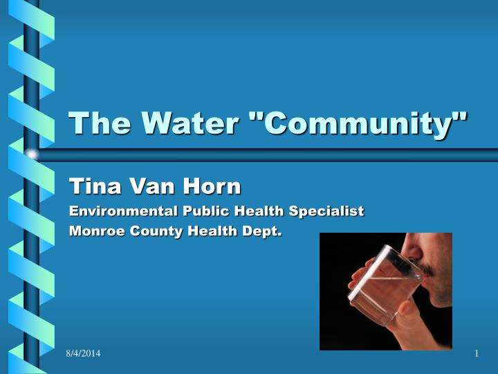 the water community