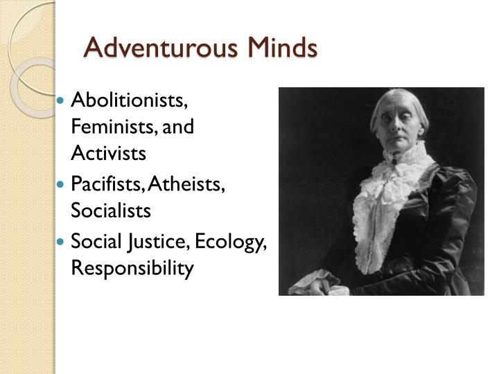 Adventurous Minds