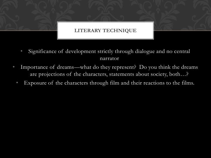 Literary technique