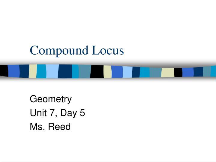 Compound locus