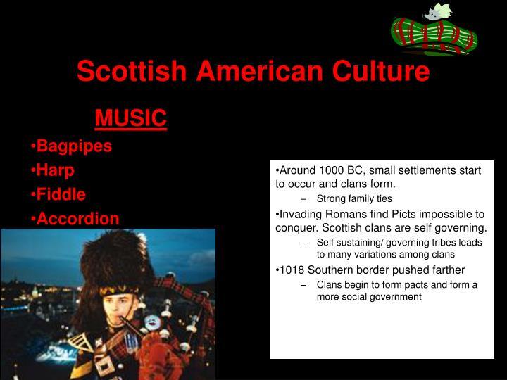 Scottish American Culture