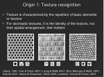 origin 1 texture recognition