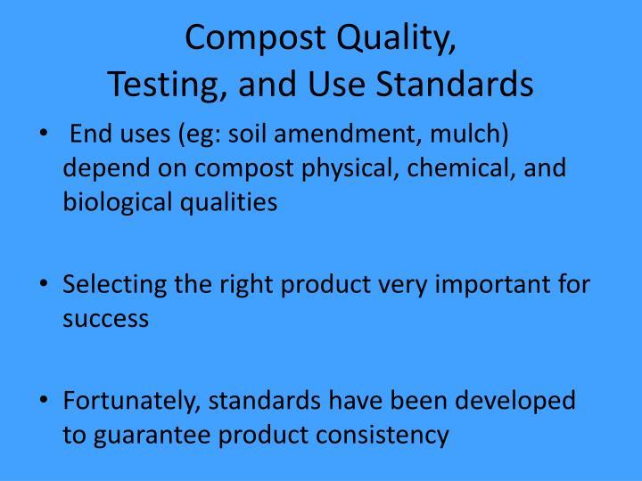 Compost Quality,