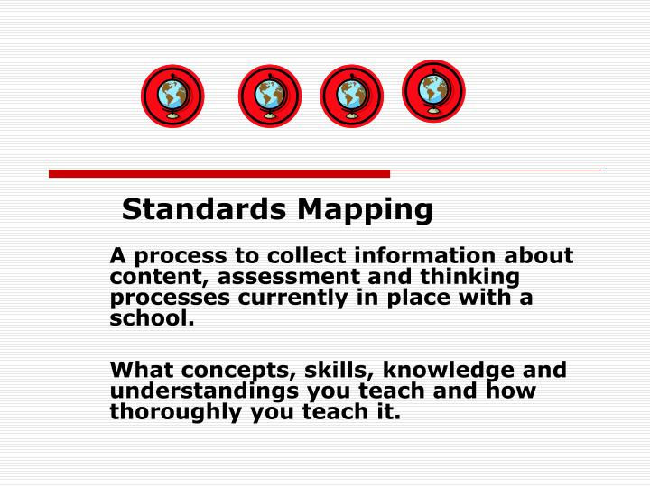 Standards Mapping